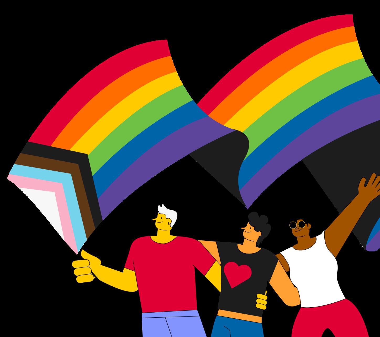 SR Pride Illustration