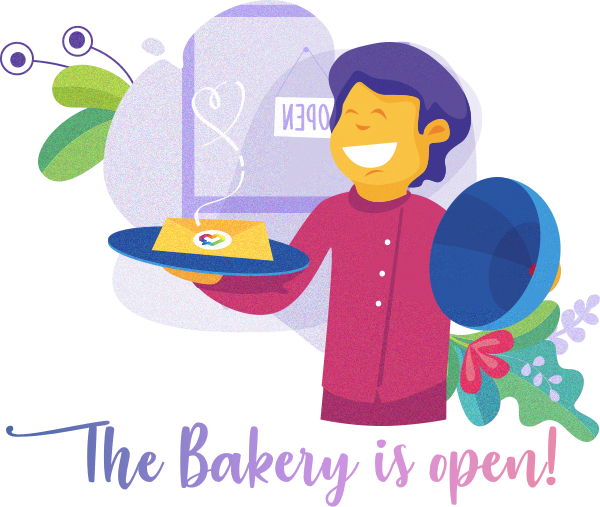 The bakery is open