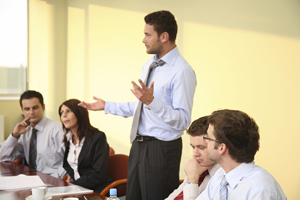 mobile filibustering or how to present when you have little to say