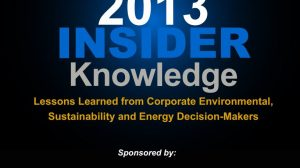 SweetRush Environmental Leader Knowledge Insider Report