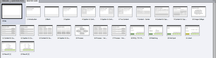 Captivate 7 Page Layouts Screenshot
