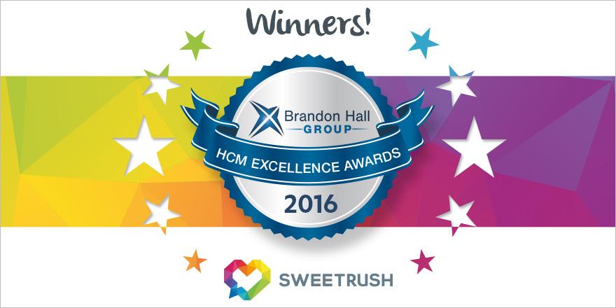 SweetRush wins Brandon Hall award.