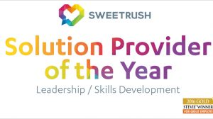 sweetrush solution provider of the year stevie award
