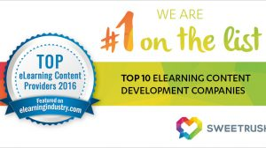 elearning industry top 10 companies sweetrush