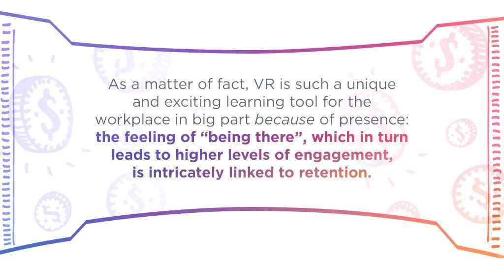 Presence in virtual reality