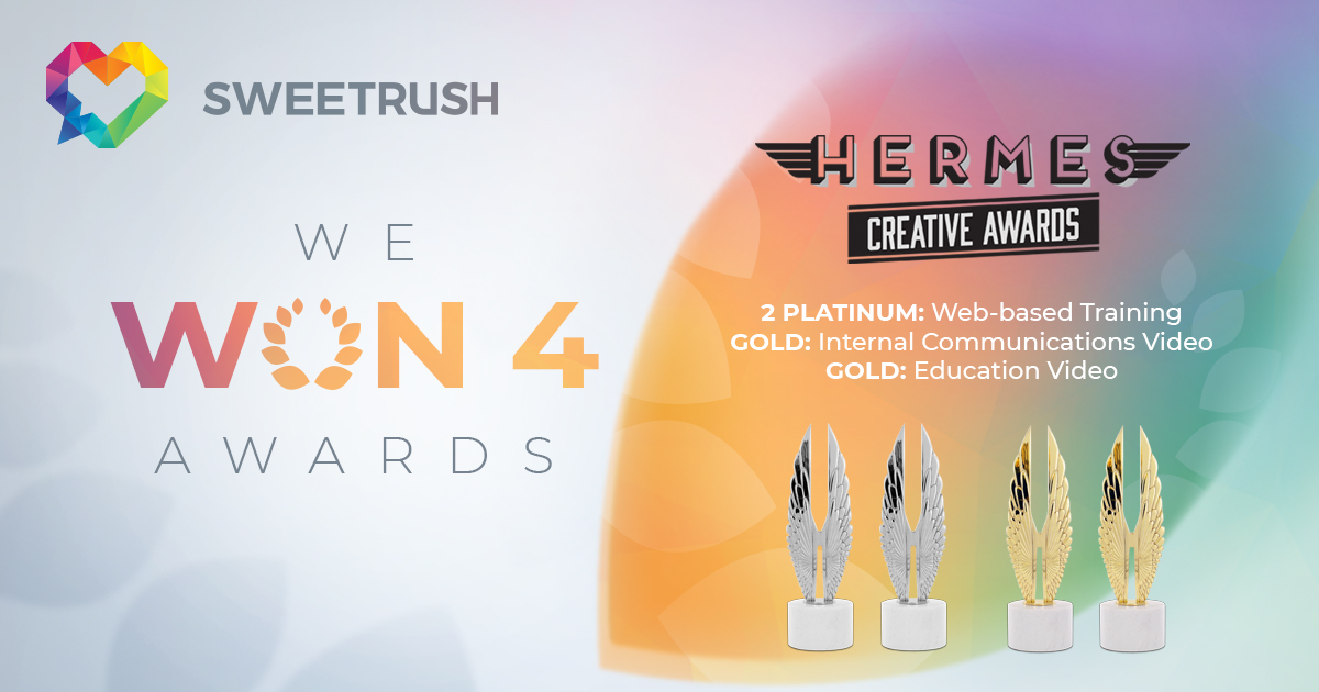 SweetRush Becomes First-Time Hermes Creative Award Winner