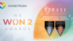 SweetRush Wins Platinum Award at 2019 Muse Creative Awards