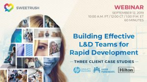 building effective L&D teams for rapid development