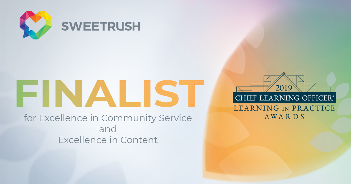 SweetRush finalist in CLO Learning in Practice Awards 2019