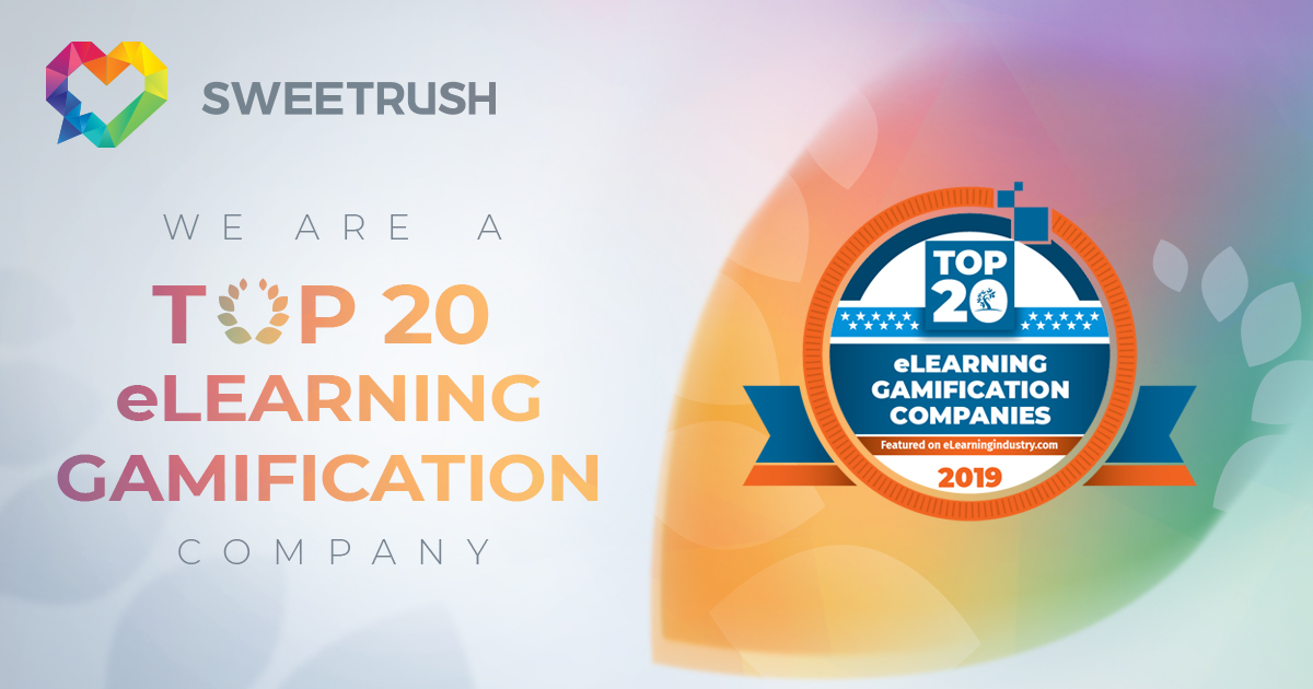 SweetRush is Top 20 eLearning Gamification Company