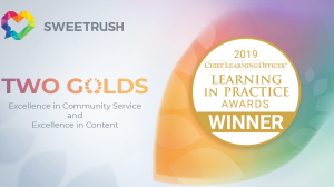 2 Gold Awards in CLO Learning in Practice Awards