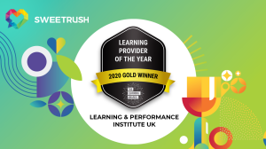 Gold Winner Learning Provider of the Year 2020
