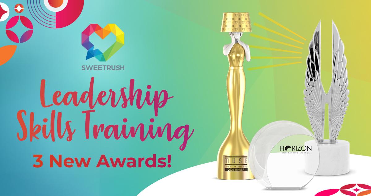 SweetRush Leadership Skills Training 3 New Awards