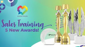 SweetRush Sales Training 5 New Awards