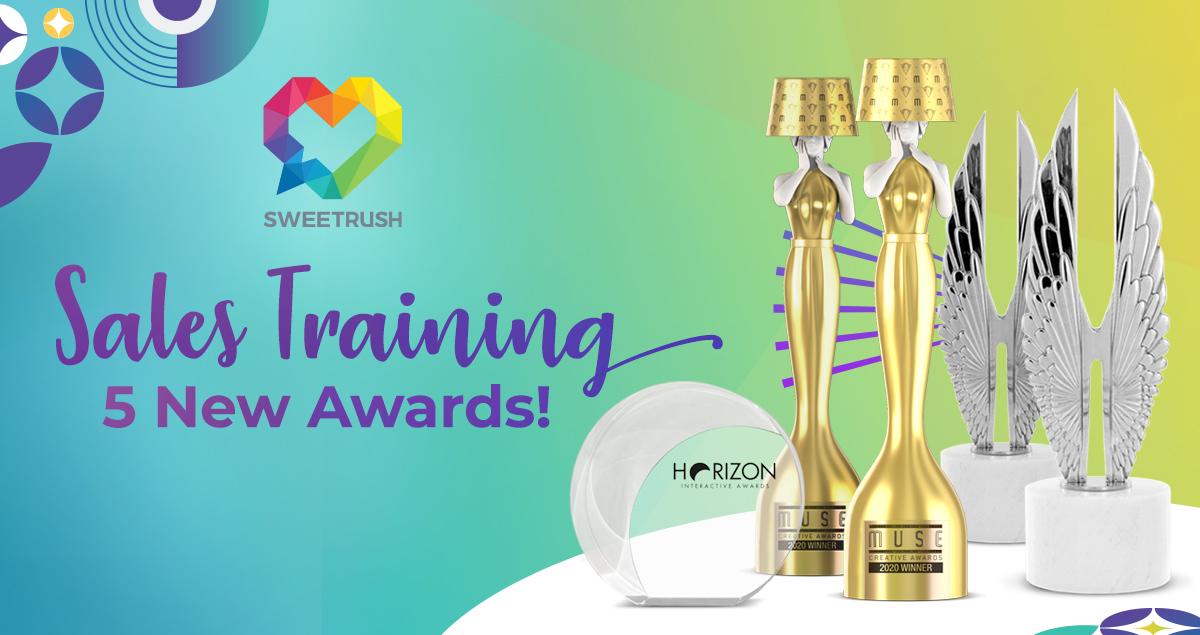 SweetRush Sales Training 5 New Awards
