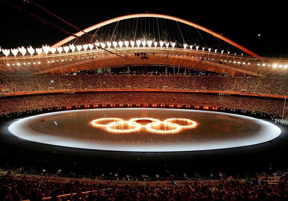 Inauguration ceremony of the 2004 Summer Olympic Games