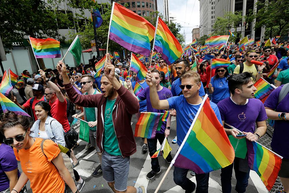 Activists celebrating Pride Parade in New York 2020 - SweetRush Inc.