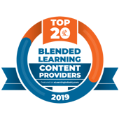 2019 Elearning Industry Top 20 Blended Learning Content Providers