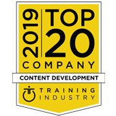 Training Industry Top 20 Content Development Company 2019