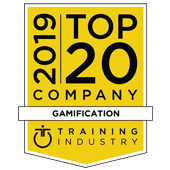 Training Industry Top 20 Company Gamification Award - SweetRush Inc.