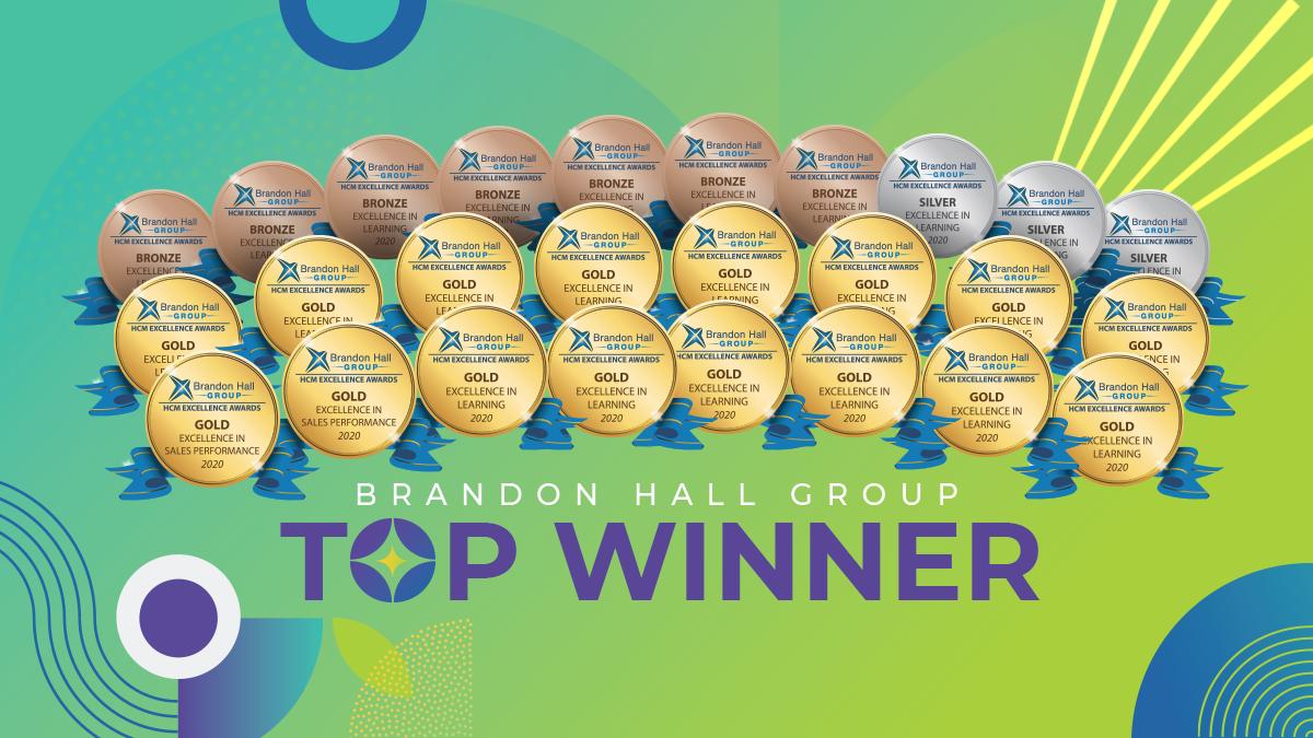 SweetRush wins 16 Gold Awards at 2020 Brandon Hall Awards