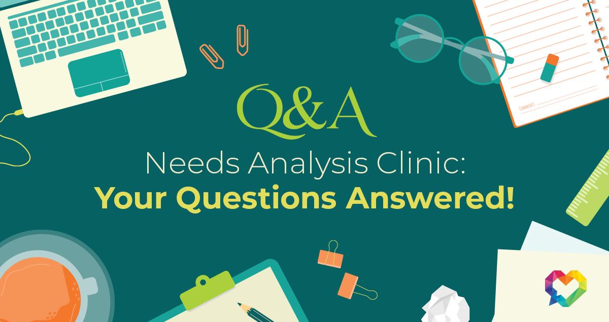 Needs Analysis Webinar Q&A Cover