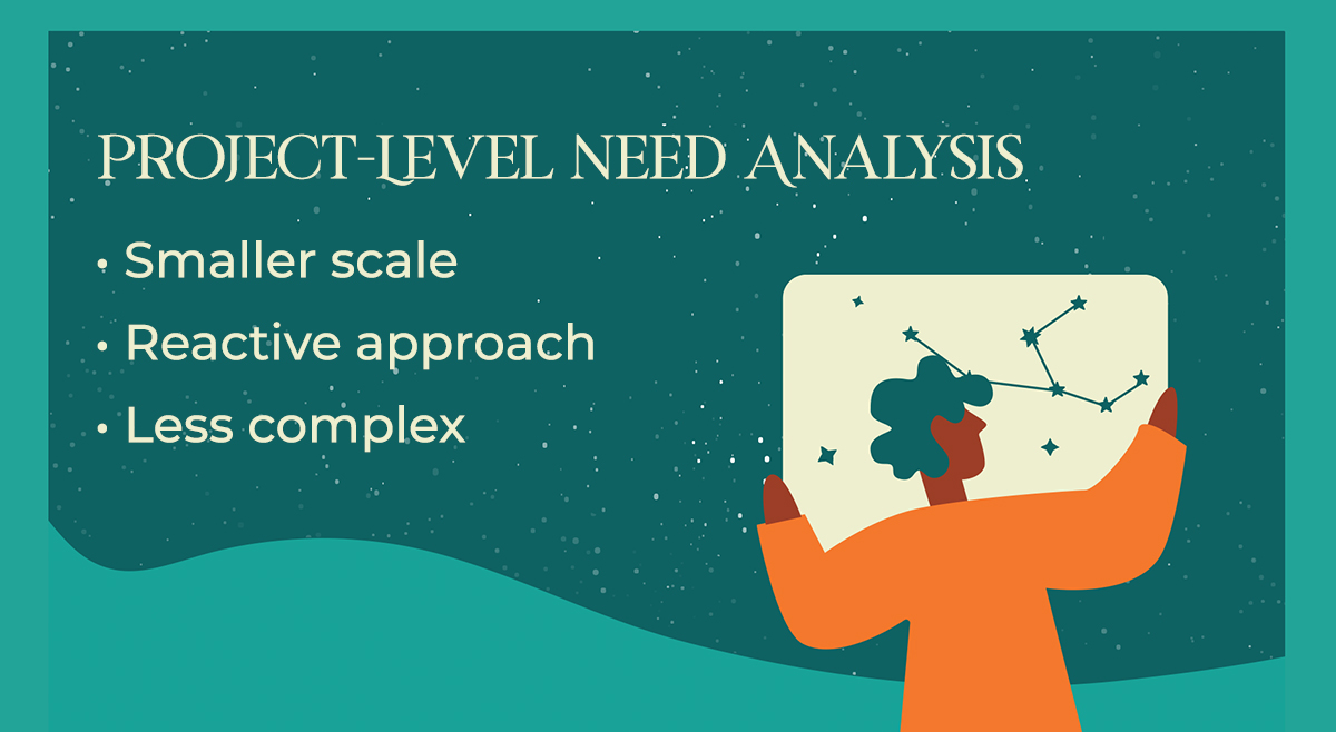 Project Level Needs Analysis