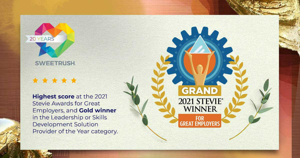 2021 Stevie Winner for Great Employers